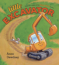 Little Excavator Hardcover Picture Book