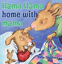 Llama Llama Home With Mama Hardcover Picture Book