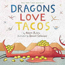 Dragons Love Tacos Harcover Picture Book