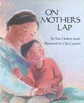 On Mother's Lap Out-of-Print Hadcover Picture Book