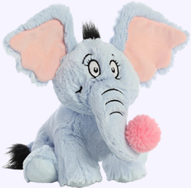 12 in. Horton Plush Storybook Character of Dr. Seuss