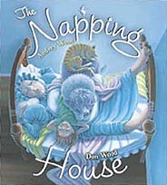 The Napping House Hardcover Picture Book