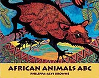 African Animals ABC Board Book