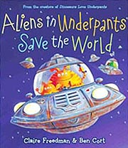 Aliens Save the World Hardcover Picture Book