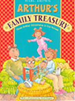 Arthur's Family Treasury Out-of-Print Hardcover Pictue Book
