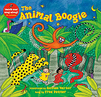 Animal Boogie Paperback with CD