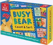 Busy Bear Game Count and Sort