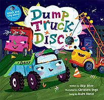 Dump Trucl Disco Hardcover Picture Book with CD