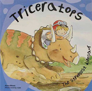 Triceratops Paperback Picture Storybook