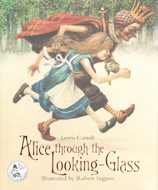 Alice through the Looking-Glass Hardcover Picture Book illus. by Robert Ingpen