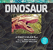 Photicular Dinosaur Book - Eight awesome dinosaurs in living motion