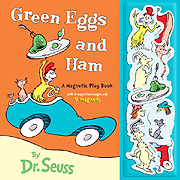 Green Eggs and Ham Magnetic Play Book Set
