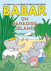 Babar on Paradise Island Picture Book