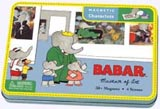 Babar Magnetic Charcters in tin box