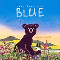 Baby Bear Sees Blue Hardcover Picture Book