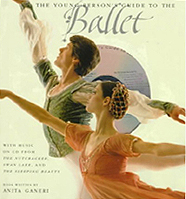 Ballet Guide Pictue Book with CD - Nutcracker, Swan Lake, and Sleeping Beauty.