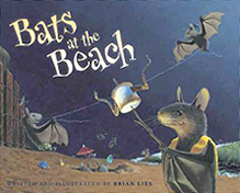 Bats at the Beach Hardcover Picture Book