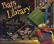 Bats at the Library Hardcover Picture Boook