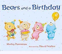 Bears and a Birthday Hardcover Picture Book