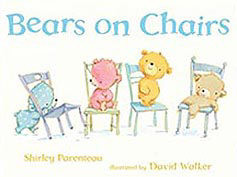 Bears on Chairs Hardcover Picture Book