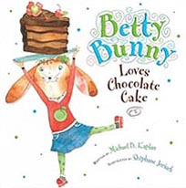 Betty Bunny Loves Chocolate Cake Hardcover Picture Book