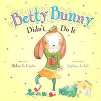 Betty Bunny Didn't Do It Hardcover Picture Book