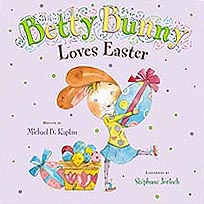 Betty Bunny Loves Easter Hardcover Pictue Book