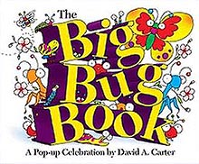 The Big Bug Book Pop-up Hardcover Picture Book