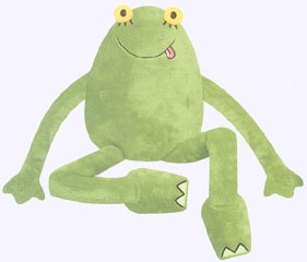 14 in. Big Frog Plush Doll