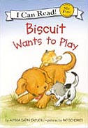 Biscuit Wants to Play Hardcover I Can Read Picture Storybook