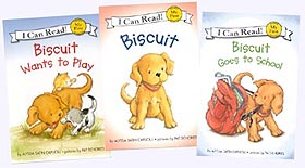Paperback set of Biscuit First Readers