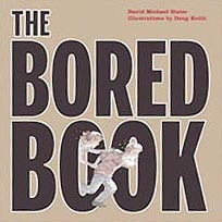 The Bored Book Wordless Out-of-Print Hardcover Picture Book