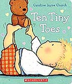 Ten Tiny Toes Board Book
