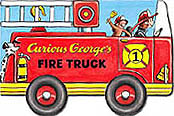 Curious George Fire Truck Board Book