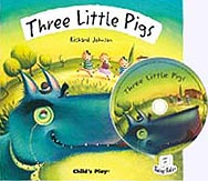 The Three Little Pigs Paperback w/CD