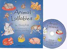 Animal Lullabies Paper Picture Book with audio CD