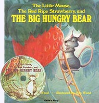 The Big Hungry Bear paperback with CD
