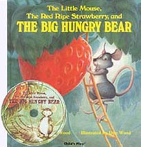 The Big Hungry Bear Paper Picture Book with CD