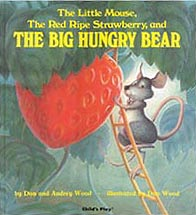 The Big Hungry Bear Hardcover Picture Book