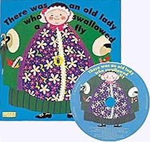 There was an Old Lady Paper Picture Book with CD