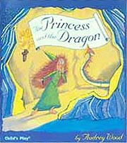 Princess and the Dragon Paperback Picture Book W/CD