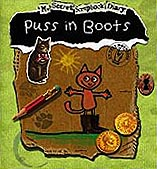 Puss in Boots Faux Diary Hadcover Picture Book