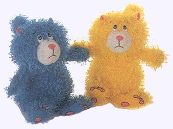 5.5 in. Scaredy Cat Plush Dolls