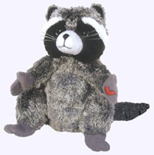 9 in. Chester the Raccoon Plush Doll