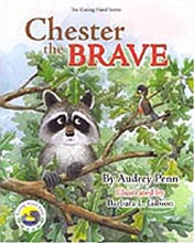 Chester the Brave Hardcover Picture Book