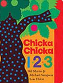Chicka Chicka 123 Board Book
