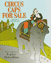 Circus Caps For Sale Out-of-Print Hardcover Pictue Book