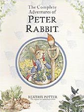 The Complete Adventures of Peter Rabbit Hardcover Illustrated Chapter Book