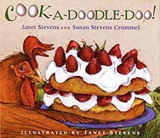 Cook-A-Doodle-Doo! Hardcover Picture Book