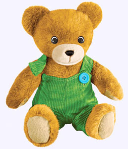 13 in. Plush Corduroy Bear
